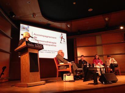 Photo prise durant mon intervention au congrès