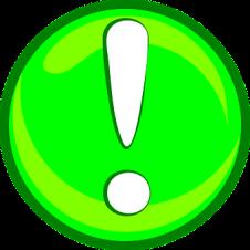 panneau signalétique exclamation
